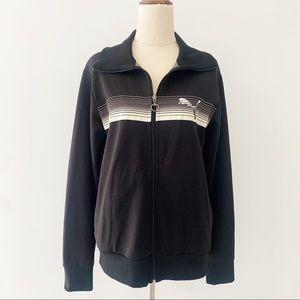 Puma Black Zip Up Jacket Size M